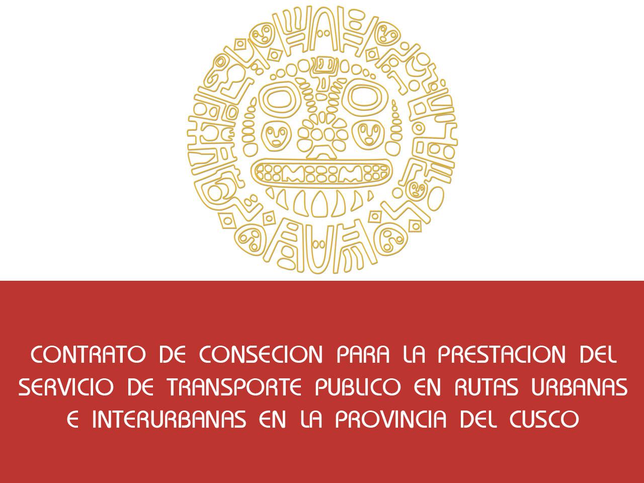 Contrato de Concesion Rutas Urbanas Cusco