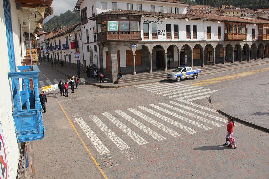 Peatonalizacion Plaza de Armas