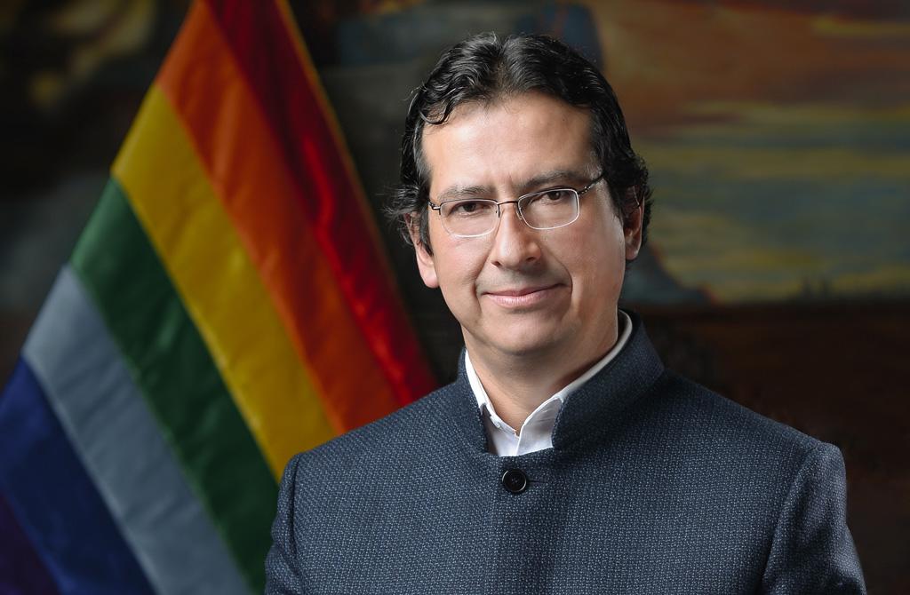 Saludo del Alcalde del Cusco - Carlos Moscoso Perea