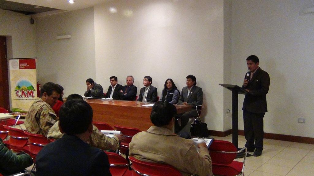 Reactivaciòn de la Comisiòn Ambiental Municipal de la provincia de Cusco
