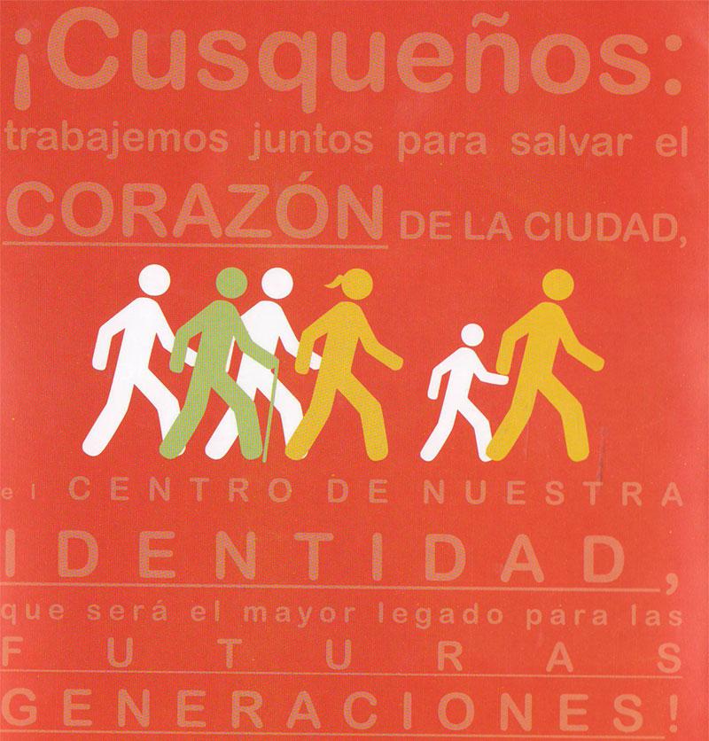 Peatonalización de la Plaza de Armas del Cusco