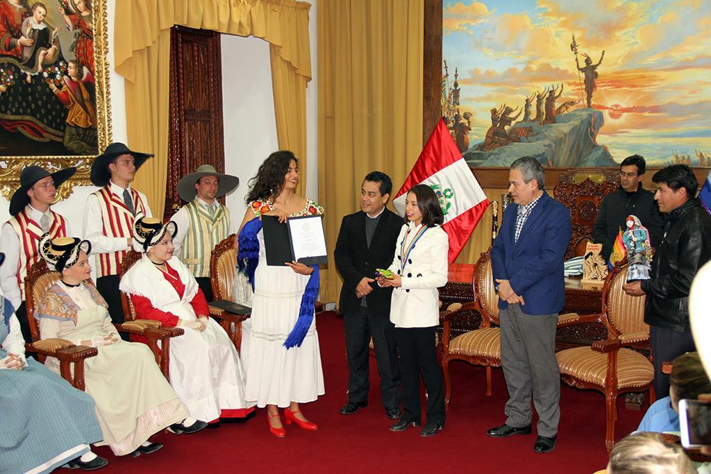 Ceremonia de Reconocimiento a Instituciones Artísticas y Folclór