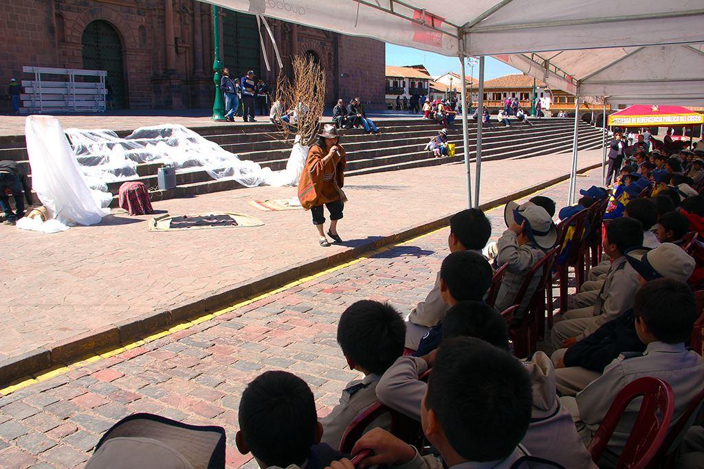 Cuenta Cuentos Andinos es Impulsado por El Gobierno Municipal
