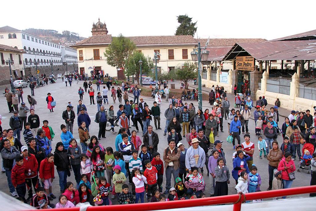 El Cuenta Cuentos en la Plaza San Pedro