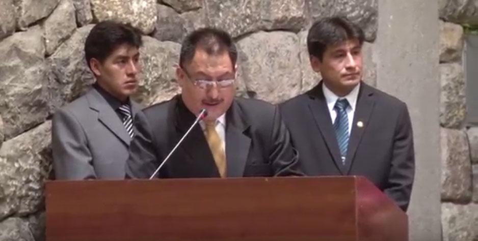 Entrega de la Medalla de la Ciudad del Cusco – 2015