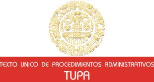 Texto Unico de Procedimientos Administrativos - (TUPA)