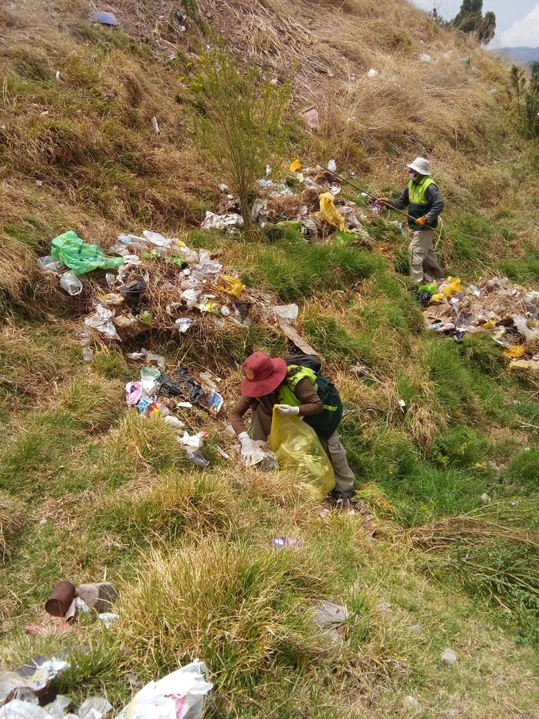 Campaña de Limpieza en La Nor Este – Sector Bombonera