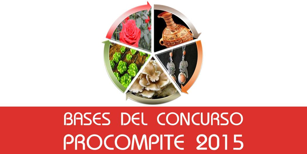 Bases del Concurso Procompite 2015
