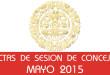Actas de Sesión de Concejo - Mayo 2015