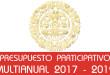 Presupuesto Participativo Multianual 2017 - 2019