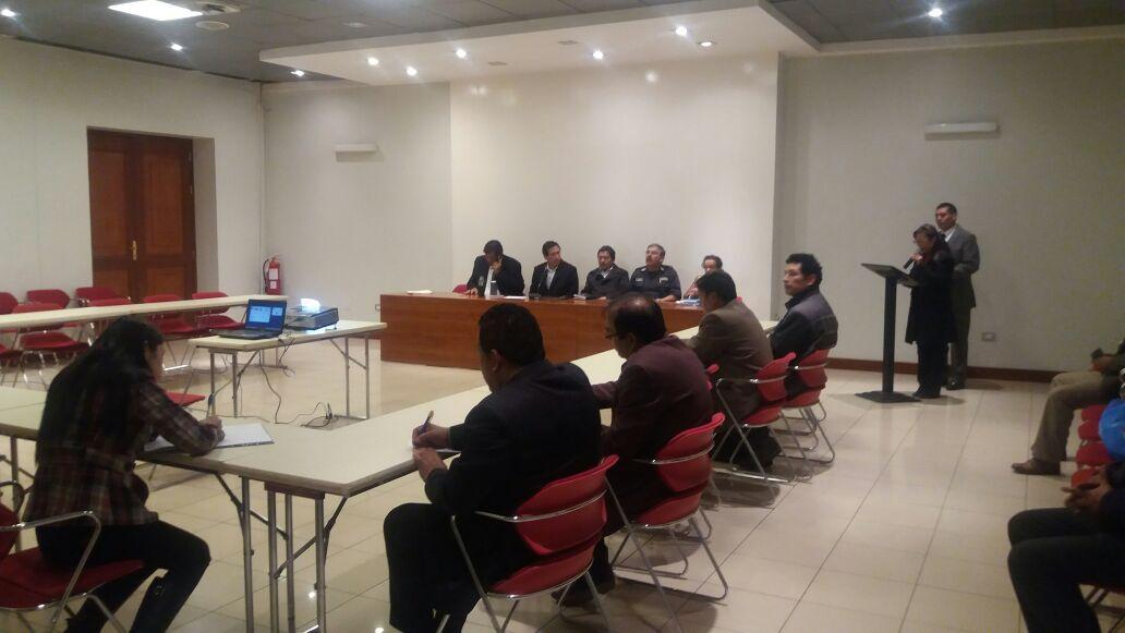 3º SESIÓN ORDINARIA DEL COMITÉ PROVINCIAL DE SEGURIDAD CIUDADANA DEL CUSCO (COPROSEC)
