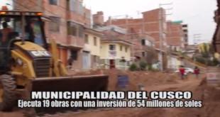 Informe 17 de Agosto - Municipalidad Provincial del Cusco