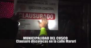 Informe 21 de Agosto - Municipalidad Provincial del Cusco