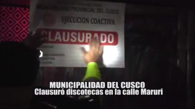 Informe 21 de Agosto – Municipalidad Provincial del Cusco
