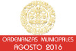 Ordenanzas Municipales - Agosto 2016
