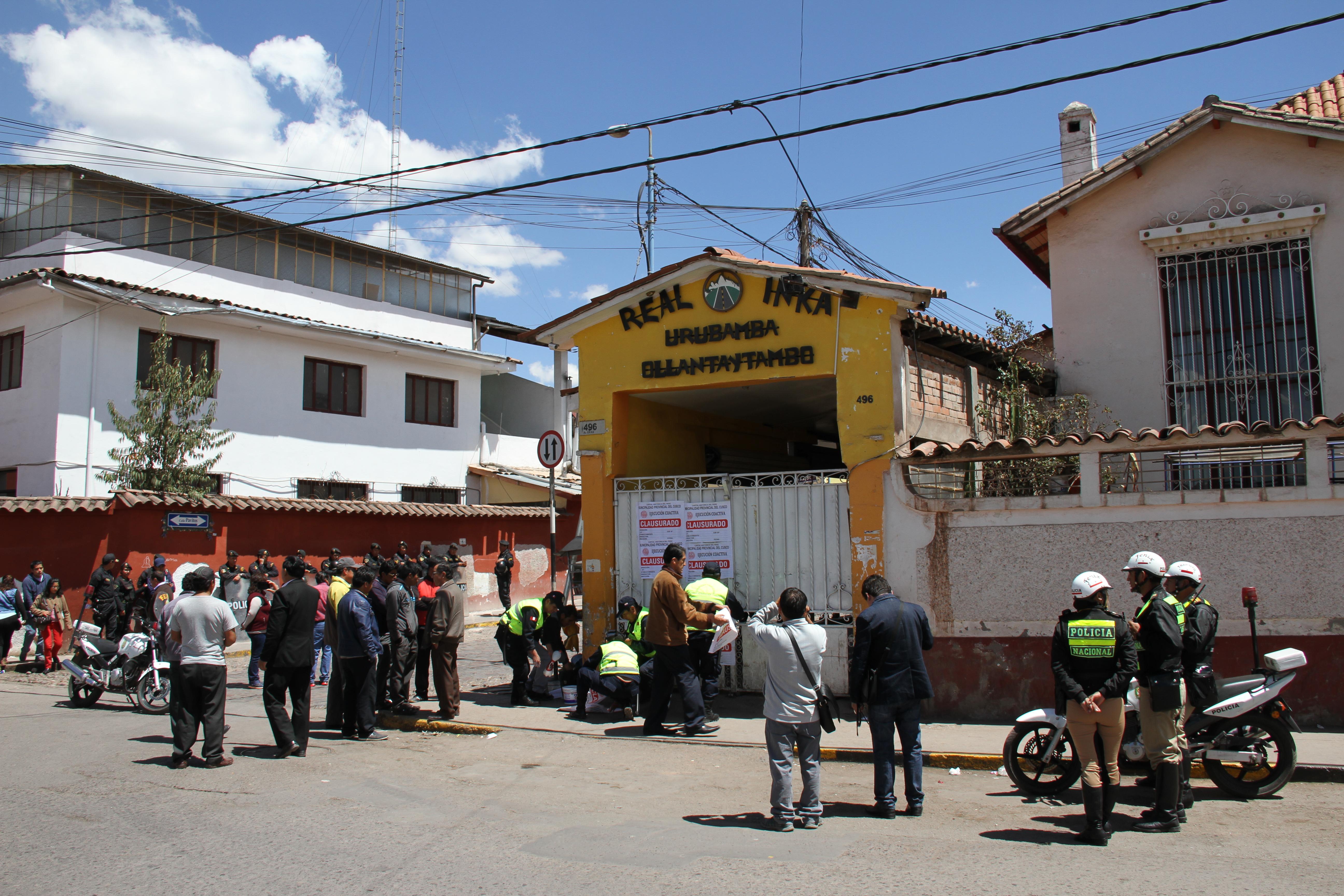 Operativos se intensificarán en otros paraderos informales de la ciudad.  MUNICIPALIDAD DEL CUSCO CLAUSURA 4 PARADEROS INFORMALES DEL SERVICIO DE TRANSPORTE INTERPROVINCIAL