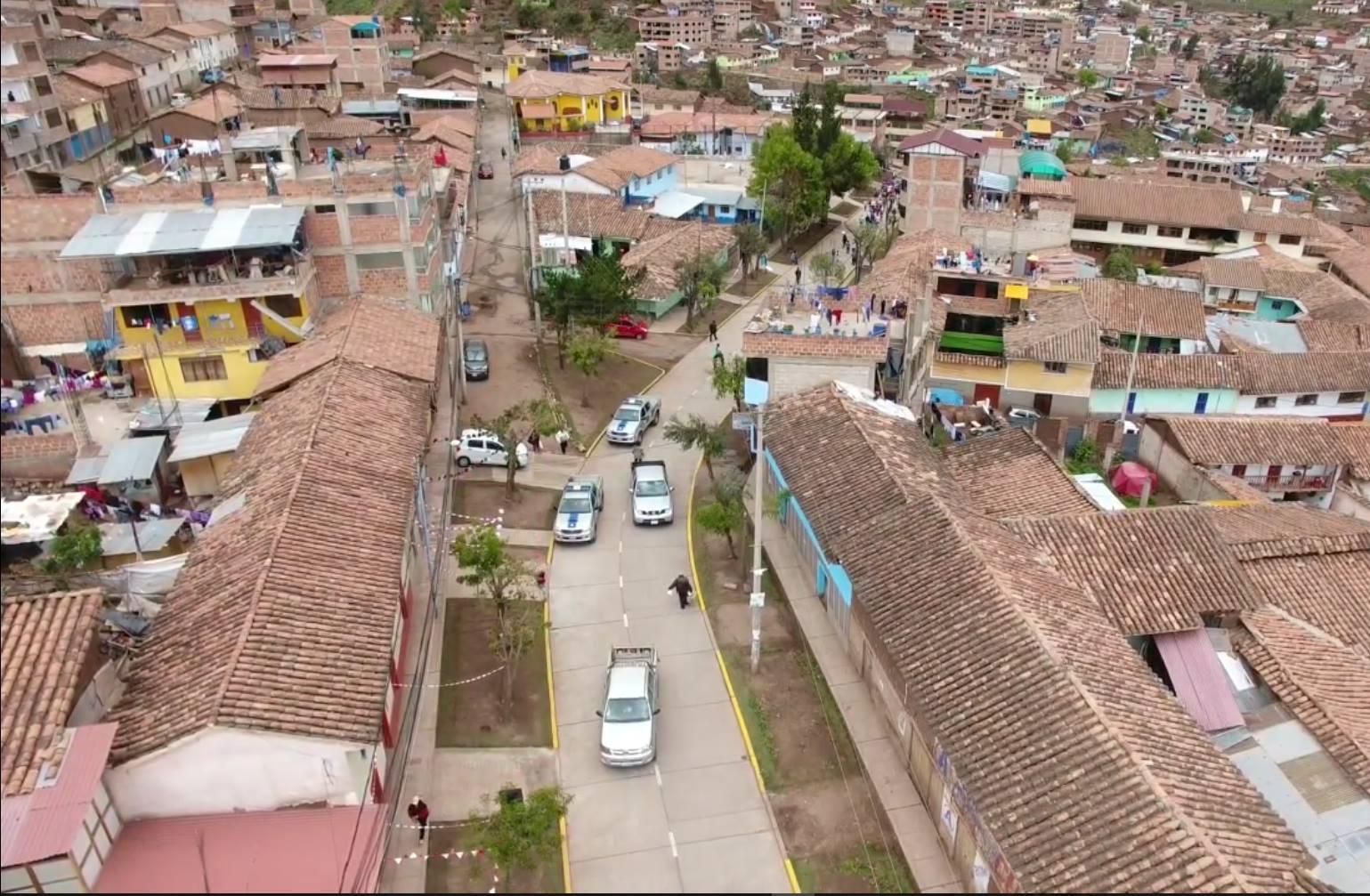 Familias de  independencia y Buena Vista se benefician con obras  MUNICIPALIDAD DE CUSCO INAUGURÓ INFRAESTRUCTURA VIAL QUE SUPERA LOS 3 MILLONES DE SOLES.