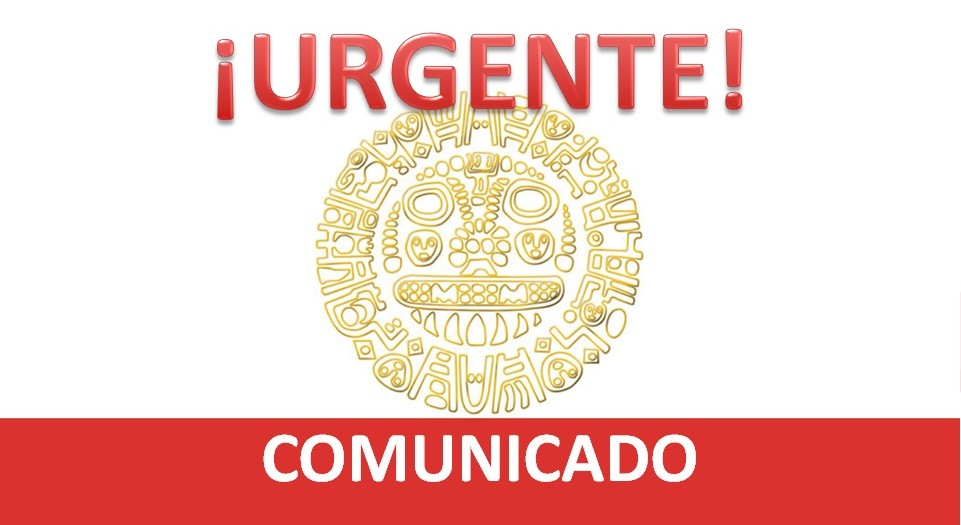 COMUNICADO - URGENTE