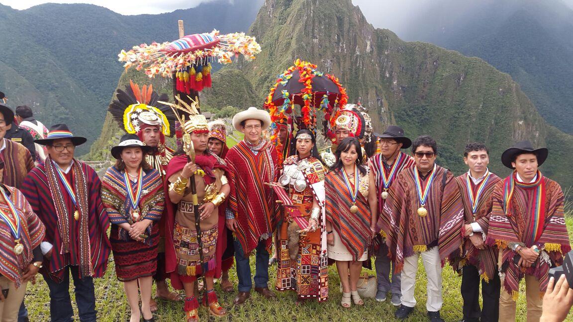 Oficialmente se lanzó el  Inti Raymi y las fiestas del Cusco 2017 en Machupicchu