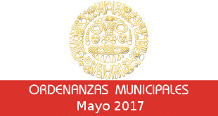 Ordenanzas Municipales – Mayo 2017