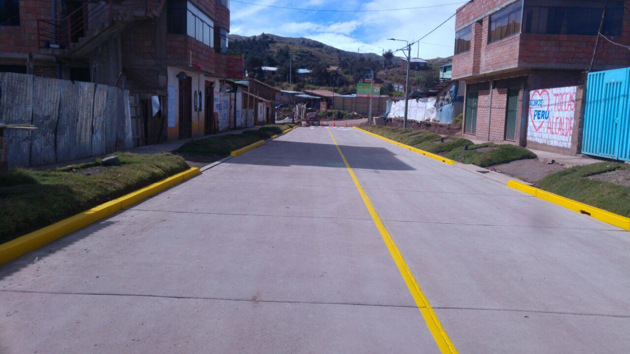 MUNICIPALIDAD DEL CUSCO INAUGURA OBRA DE PAVIMENTACIÓN DE LA VÍA ARCO TICA TICA – COMUNIDAD SENCCA.