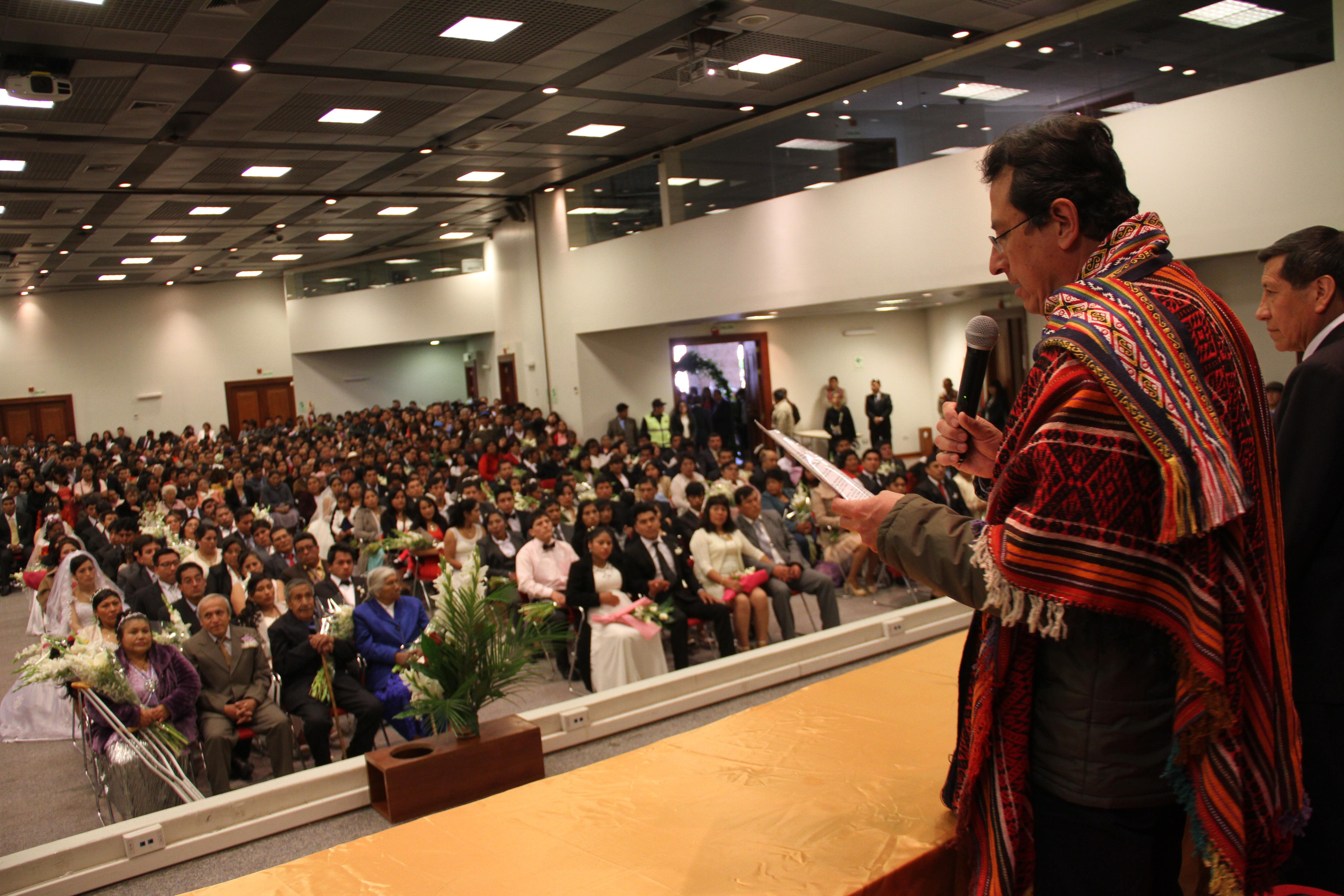 MUNICIPALIDAD PROVINCIAL DEL CUSCO ORGANIZA MATRIMONIO CIVIL COMUNITARIO 2018 Y CONFORMA  COMISIÓN ORGANIZADORA POR FIESTAS DEL CUSCO.