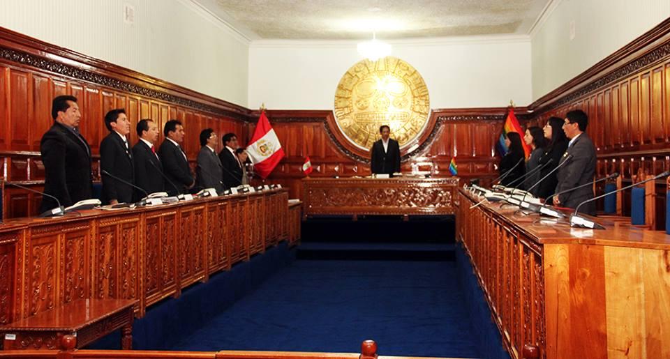 ALEJANDRO FRISANCHO BACA ASUME FUNCIONES COMO REGIDOR EN LA MUNICIPALIDAD DEL CUSCO