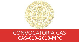 Convocatorias CAS-010-2018-MPC