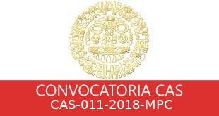 Convocatorias CAS-011-2018-MPC