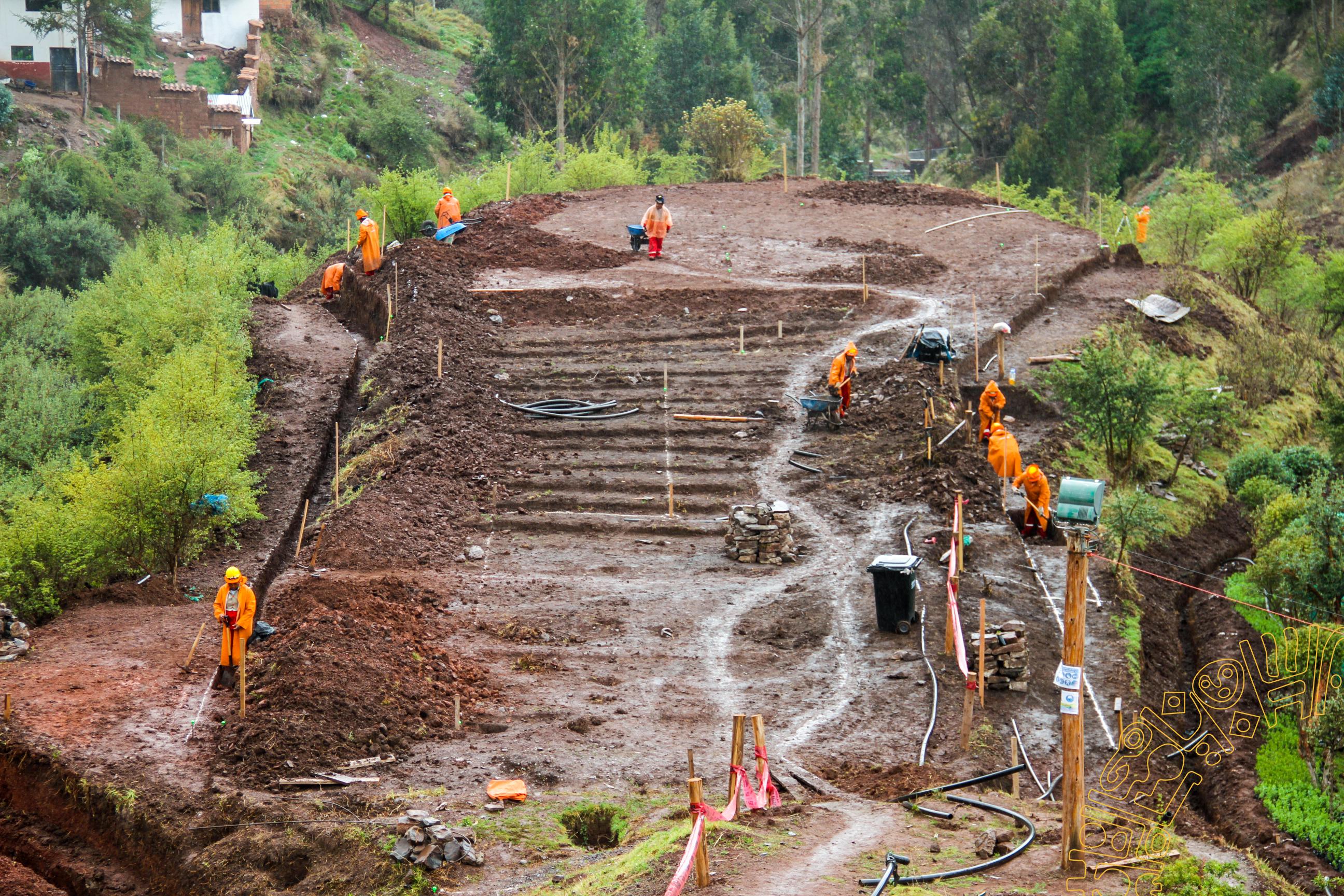 SE INICIA  LA CONSTRUCCIÓN DE UN PARQUE  ECOLÓGICO EN LA APV  CAMINO REAL  EN LA ZONA NOROCCIDENTAL.