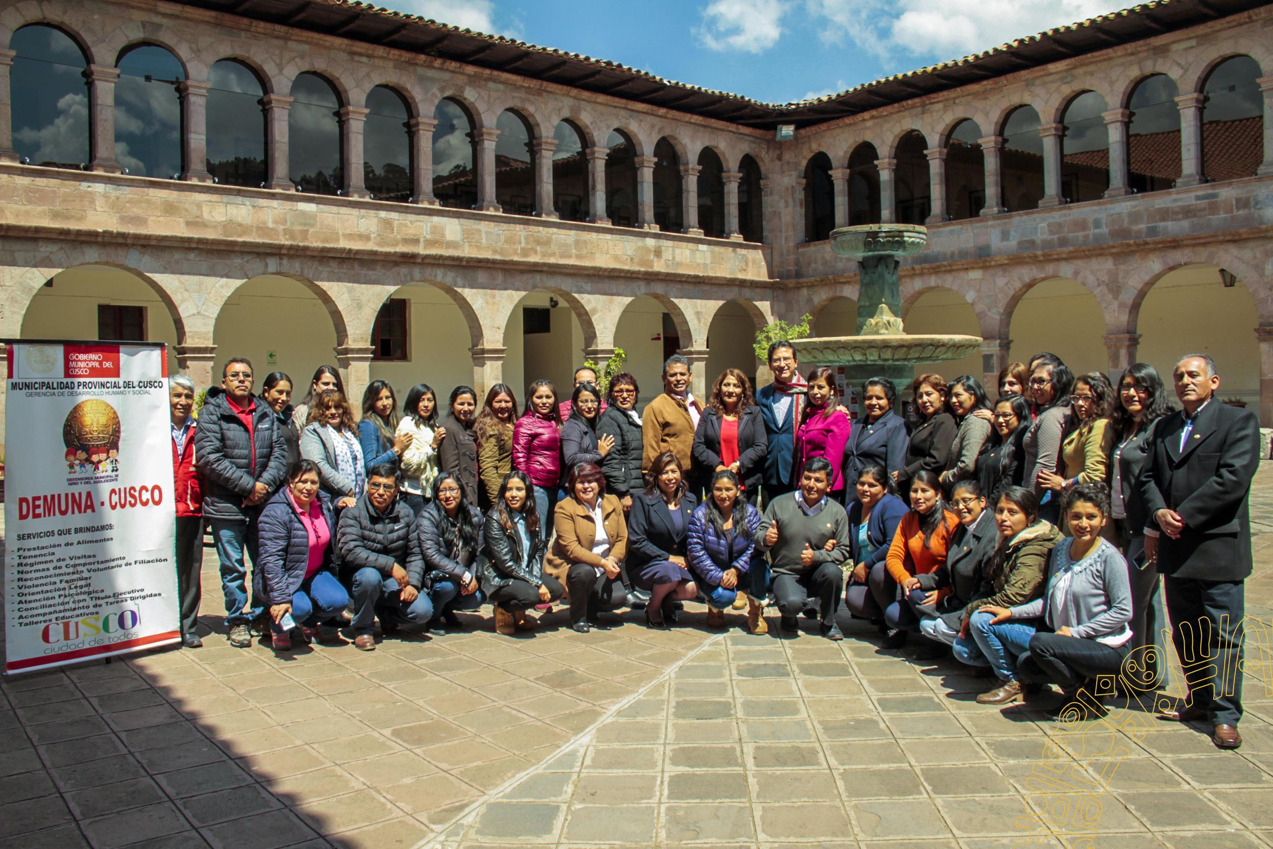 """LA MUNICIPALIDAD PROVINCIAL DEL CUSCO ORGANIZA EL TALLER DE """"DESARROLLO DE COMPETENCIAS PARENTALES"""""""