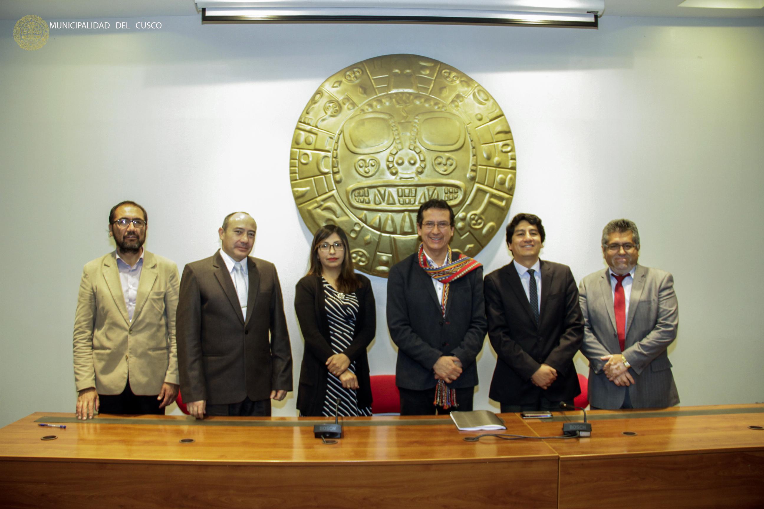 SE INICIA EL PROCESO DE TRANSFERENCIA EN LA MUNICIPALIDAD DEL CUSCO