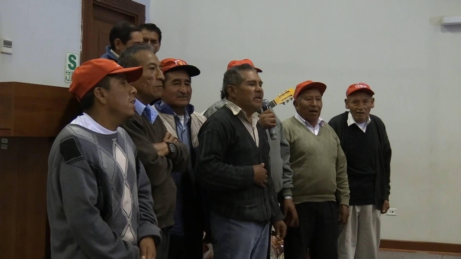 MUNICIPALIDAD PROVINCIAL DEL CUSCO CLAUSURO ACTIVIDADES CON PROGRAMAS DEL ADULTO MAYOR.